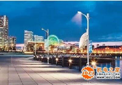 """香港建设智慧城市 路灯将装上""""智慧脑"""""""